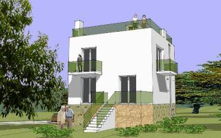 Проект двухэтажного дома 155 кв.м — 103-155