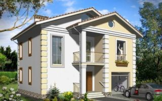 Проект двухэтажного дома 139 кв.м — 101-139