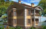 Проект двухэтажного дома 143 кв.м — 101-143