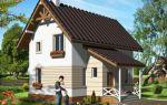 Проект мансардного дома 88 кв.м — 101-088