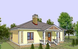 Проект одноэтажного дома 122 кв.м — 103-122