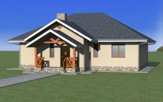 Проект одноэтажного дома 120 кв.м — 102-120
