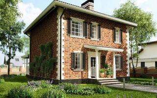 Проект двухэтажного дома 132 кв.м — 103-132