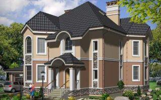Проект двухэтажного дома 297 кв.м — 101-297