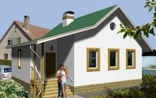 Проект одноэтажного дома 69 кв.м — 102-069