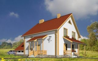 Проект двухэтажного дома 173 кв.м — 102-173