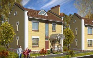 Проект двухэтажного дома 137 кв.м — 101-137