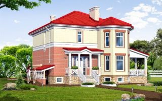 Проект двухэтажного дома 264 кв.м — 102-264