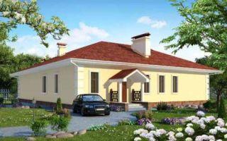 Проект одноэтажного дома 178 кв.м — 101-178