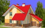 Проект мансардного дома 169 кв.м — 105-169