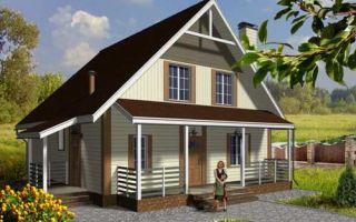 Проект двухквартирного дома 151 кв.м — 104-151
