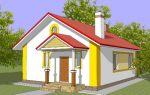 Проект одноэтажного дома 68 кв.м — 101-068
