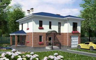 Проект двухэтажного дома 171 кв.м — 102-171