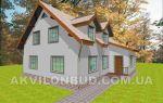 Проект мансардного дома 205 кв.м — 101-205