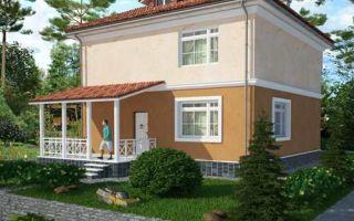 Проект двухэтажного дома 151 кв.м — 106-151