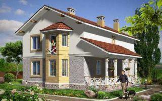 Проект двухэтажного дома 210 кв.м — 101-210