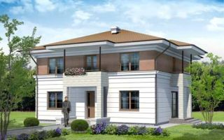 Проект двухэтажного дома 177 кв.м — 101-177