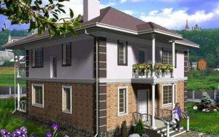 Проект двухэтажного дома 151 кв.м — 103-151