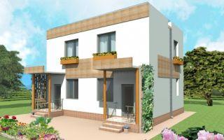 Проект двухэтажного дома 103 кв.м — 103-103