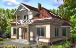 Проект мансардного дома 182 кв.м — 103-182