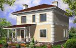 Проект двухэтажного дома 135 кв.м — 105-135