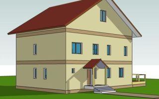 Проект двухэтажного дома 221 кв.м — 102-221