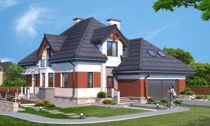 Проект мансардного дома 327 кв.м — 101-327