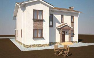 Проект двухэтажного дома 174 кв.м — 101-174