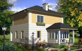 Проект двухэтажного дома 118 кв.м — 101-118