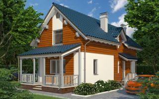 Проект дома с мансардой 119 кв.м — 101-119