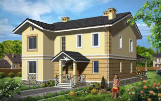 Проект двухэтажного дома 176 кв.м — 101-176