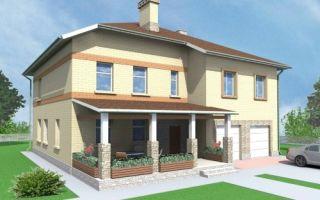 Проект двухэтажного дома 286 кв.м — 102-286