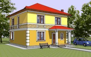 Проект двухэтажного дома 156 кв.м — 103-156