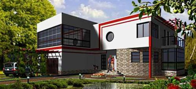 Проект двухэтажного дома 294 кв.м — 101-294