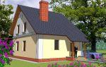 Проект дома с мансардой 102 кв.м — 101-102