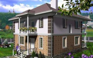 Проект двухэтажного дома 151 кв.м — 102-151