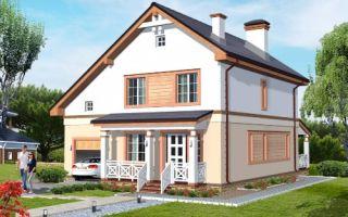 Проект двухэтажного дома 155 кв.м — 102-155