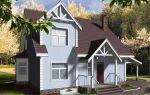 Проект дома с мансардой 129 кв.м — 101-129