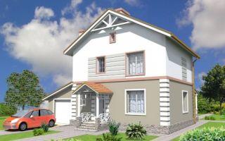 Проект двухэтажного дома 135 кв.м — 106-135