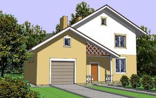 Проект двухэтажного дома 189 кв.м — 102-189