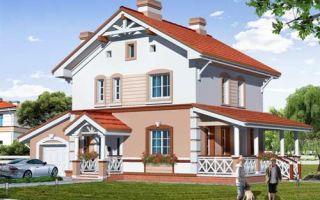 Проект двухэтажного дома 138 кв.м — 103-138