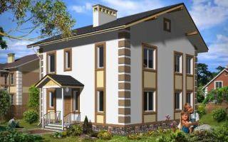 Проект двухэтажного дома 147 кв.м — 102-147
