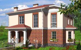 Проект двухэтажного дома 182 кв.м — 101-182