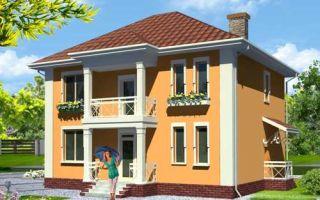 Проект двухэтажного дома 175 кв.м — 101-175