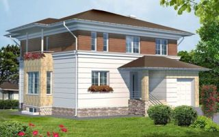 Проект двухэтажного дома 270 кв.м — 101-270