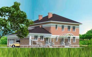 Проект двухэтажного дома 277 кв.м — 101-277