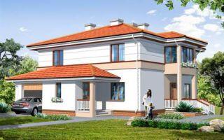 Проект двухэтажного дома 194 кв.м — 101-194