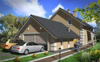 Проект мансардного дома 185 кв.м — 101-185