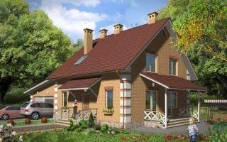Проект мансардного дома 184 кв.м — 101-184