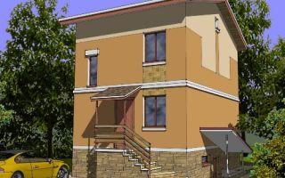 Проект двухэтажного дома 131 кв.м — 103-131